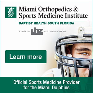 Banner image.Miami Orthopedics & Sports Medicine Institute