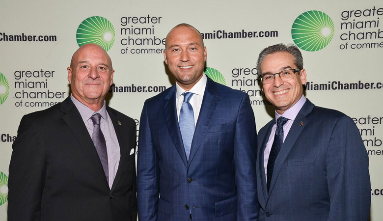 Derek Jeter Addresses the GMCC's February Trustee Luncheon