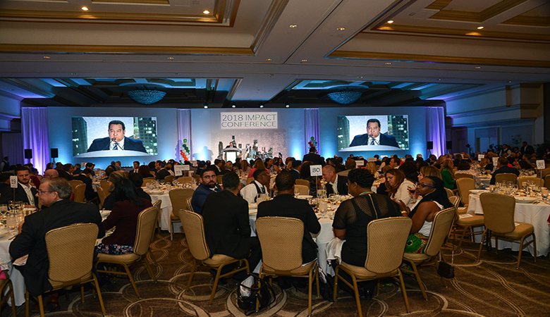 The Greater Miami Chamber Of Commerce IMPACT Conference Took - Conference table miami