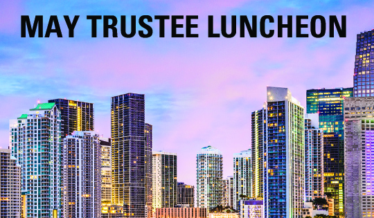 May Trustee Luncheon