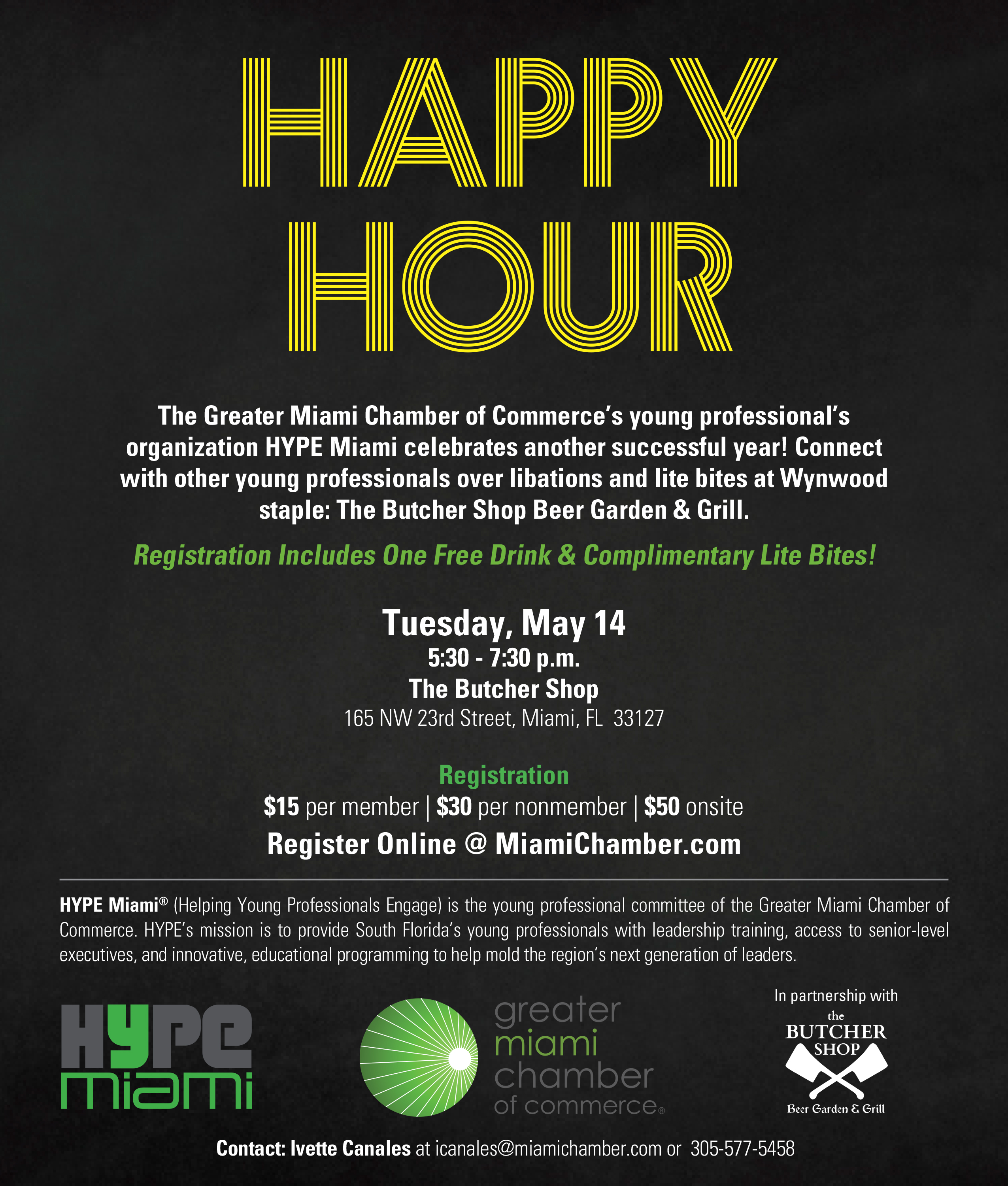 HYPE Miami Happy Hour | Greater Miami Chamber of Commerce